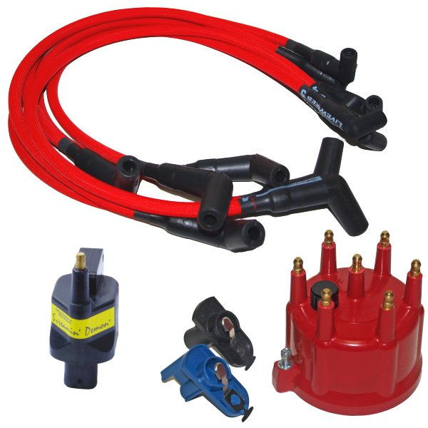 1 Pack Performance Distributors C9051BK Ignition Spark Plug Wire